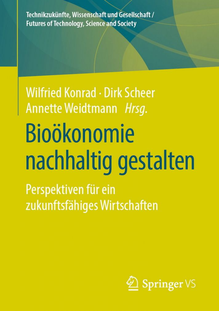"Book cover ""Shaping Bioeconomy Sustainably"""